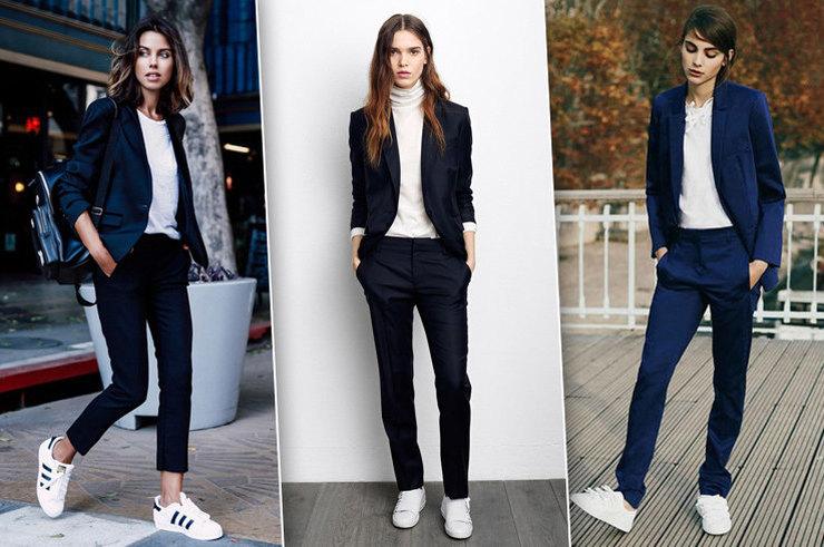 59c5268e5 Давно уже можно: как сочетать кроссовки с деловыми костюмами ...