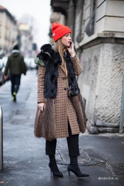 43cd1ff2e66 Заключительный стритстайл недели моды в Милане сезона осень-зима 2018-2019